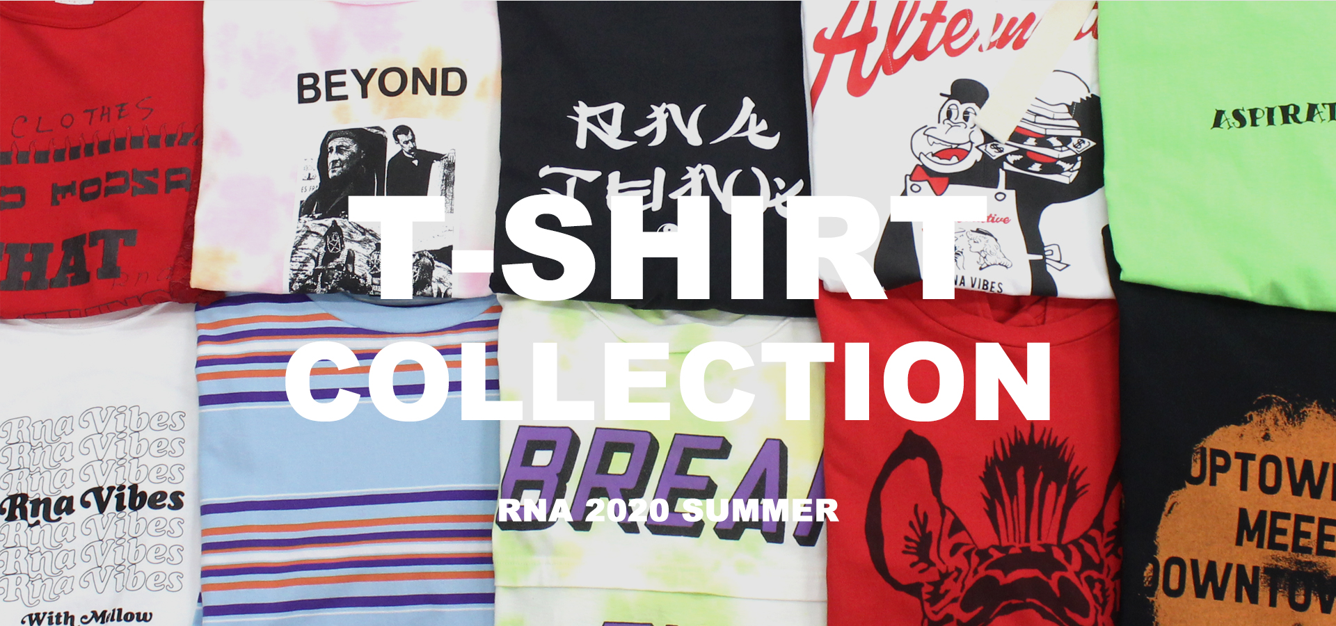 RNA T-SHIRT COLLECTION ALL ITEMS