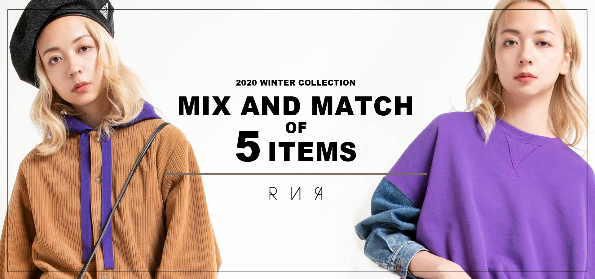RNA MIX AND MATCH OF 5ITEMS