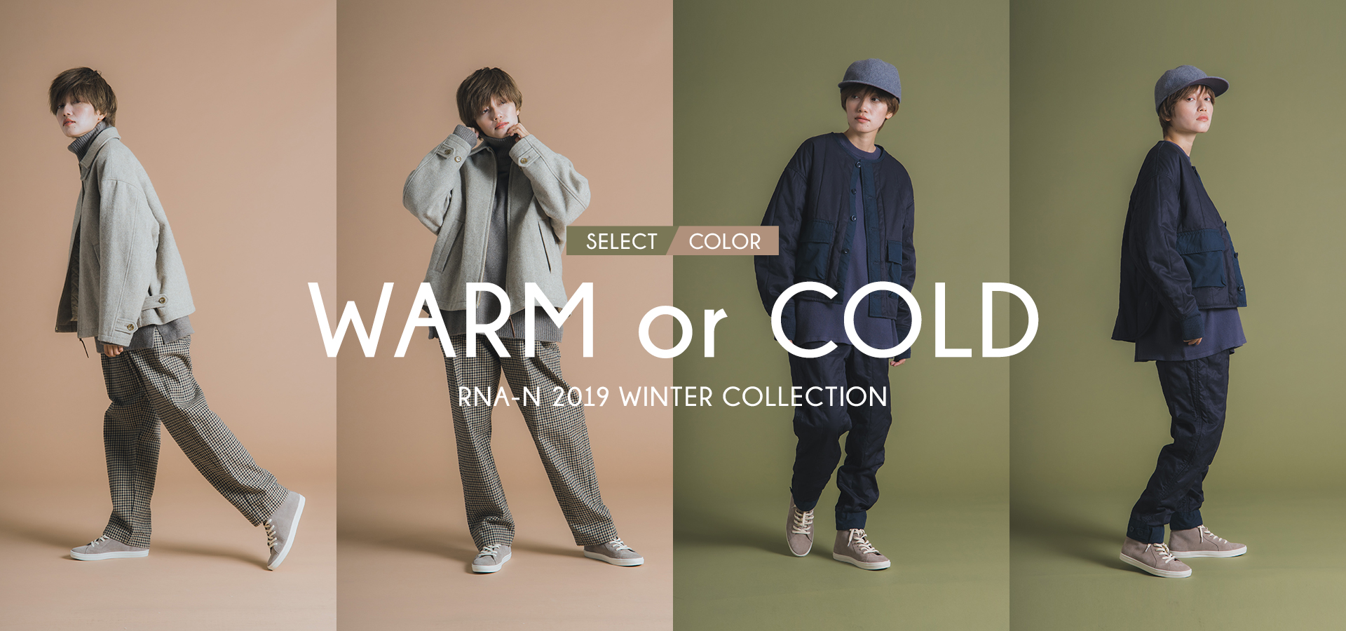 RNA-N WARM COLOR or COLD COLOR
