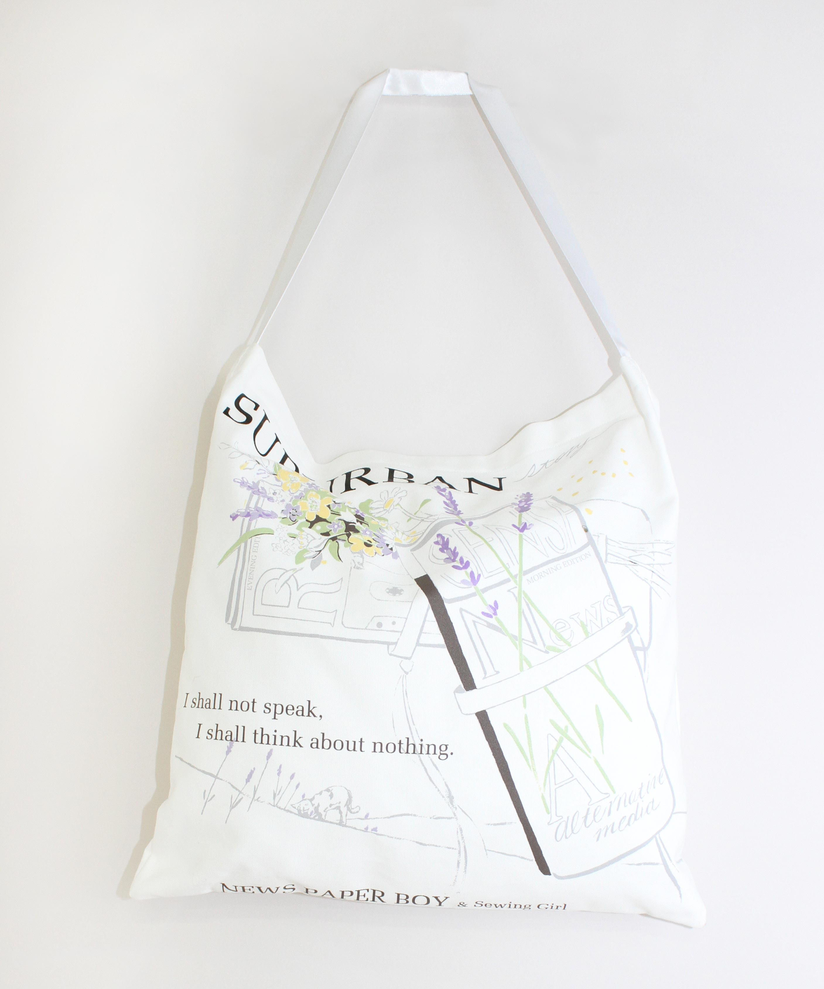 E4793 Work up! NewsPaper Bag