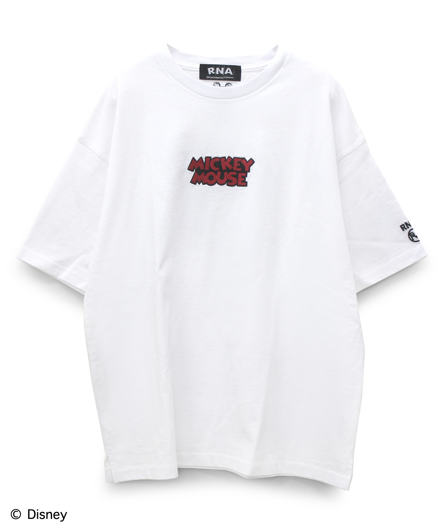 M1012 MICKEY MOUSE/ロゴBIG-Tシャツ