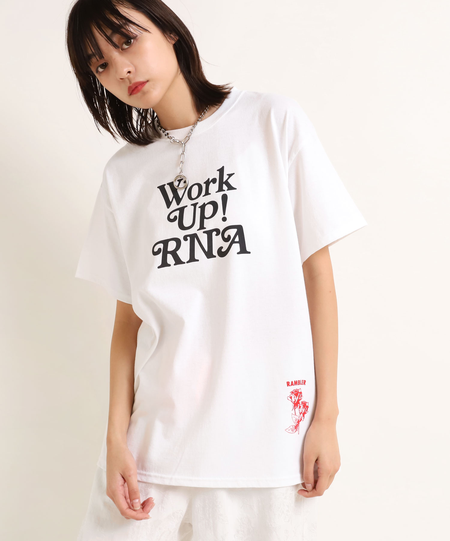 M1678 Work Up!ロゴTEE
