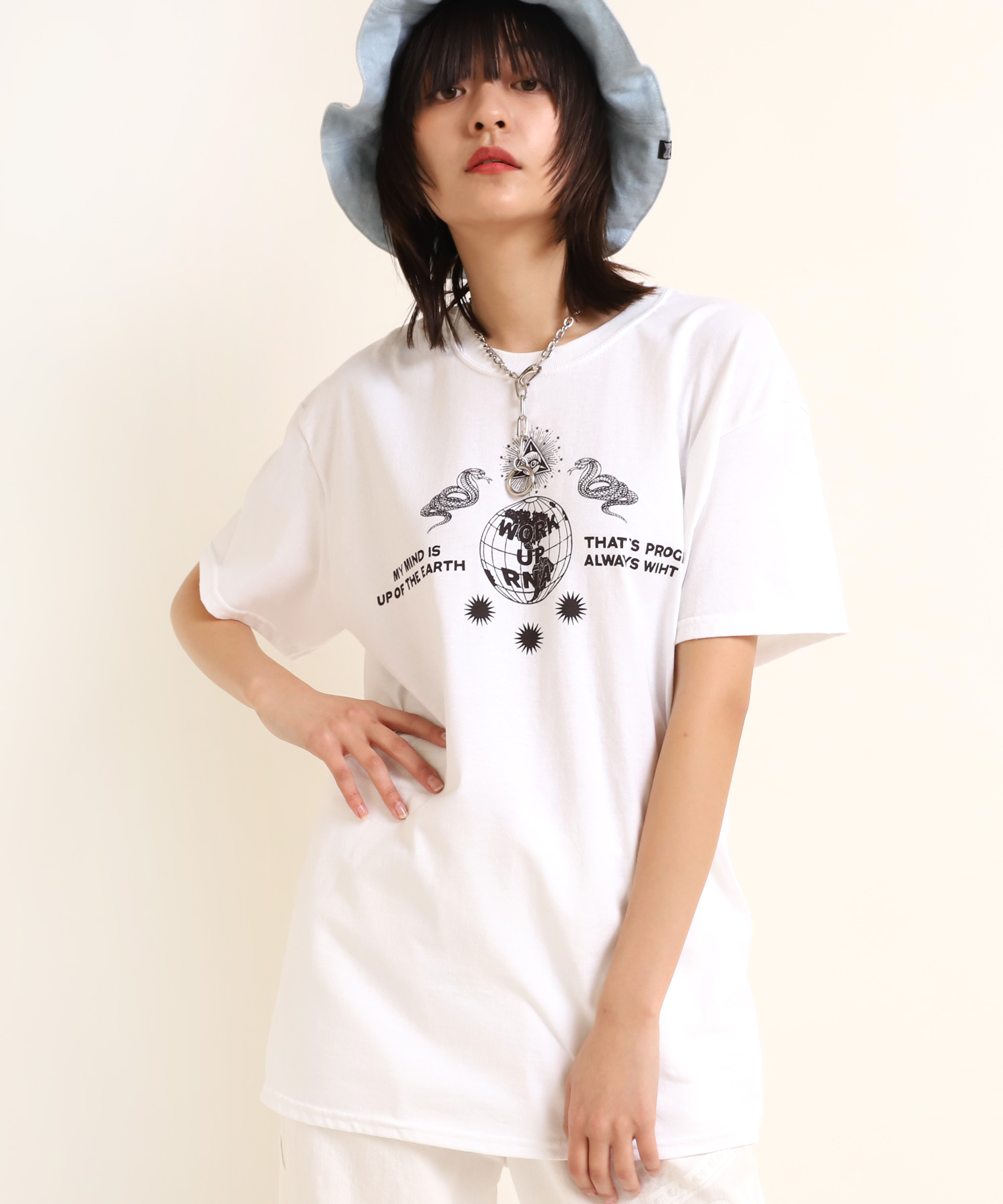 M1681 Creation of God BIG-Tシャツ