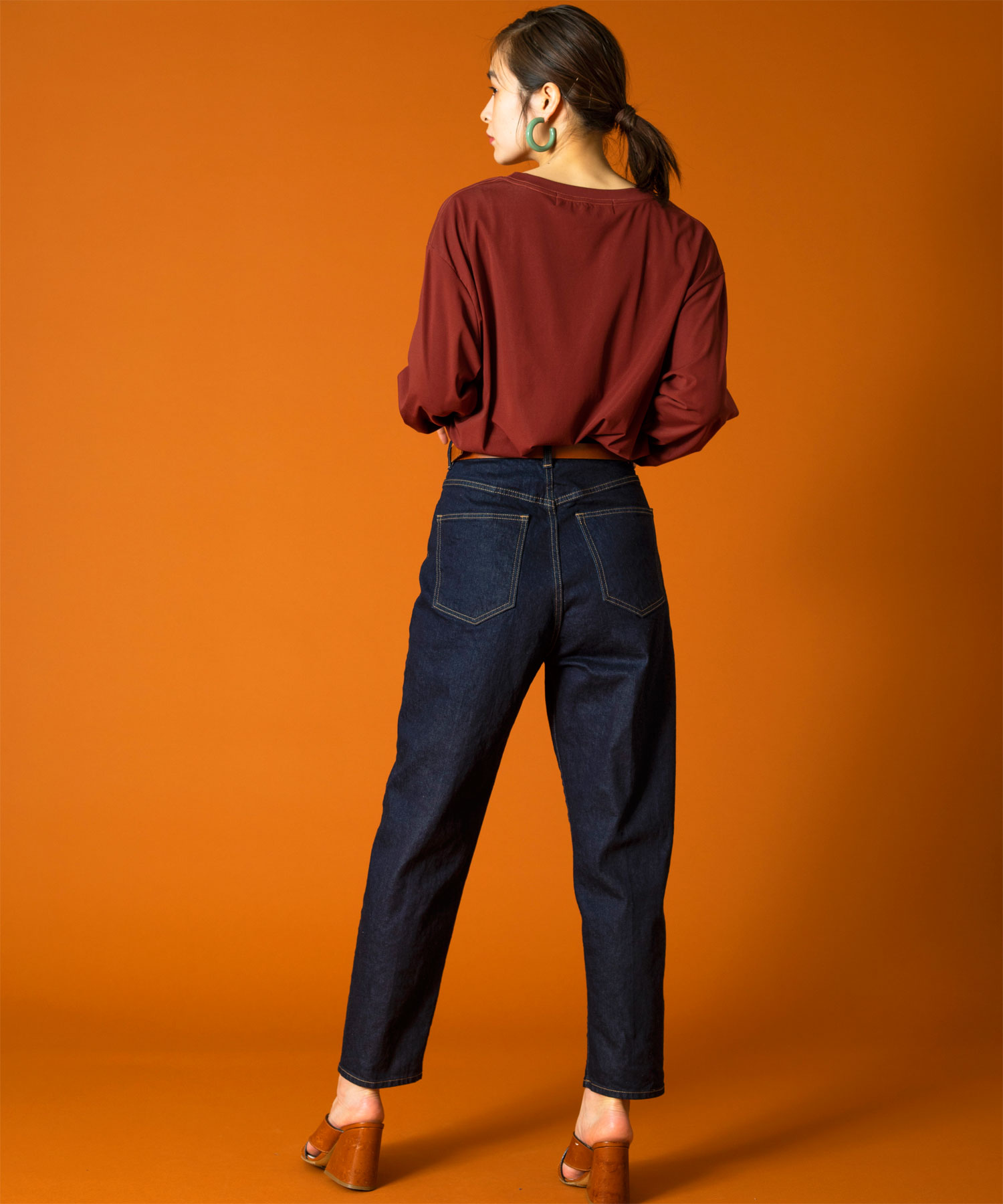R3614 CARROT JEANS