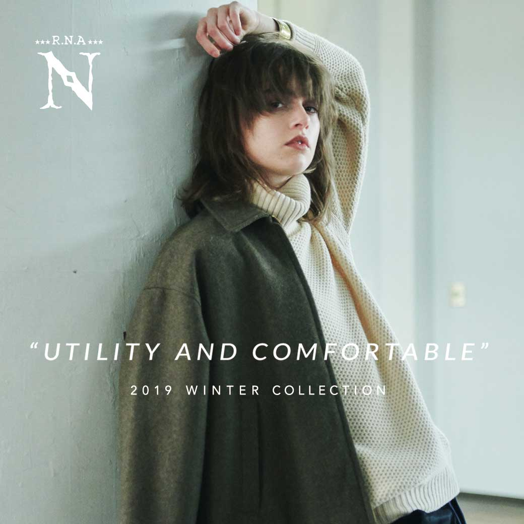 【RNA-N】WEB CATALOG「UTILITY AND COMFORTABLE」公開中!