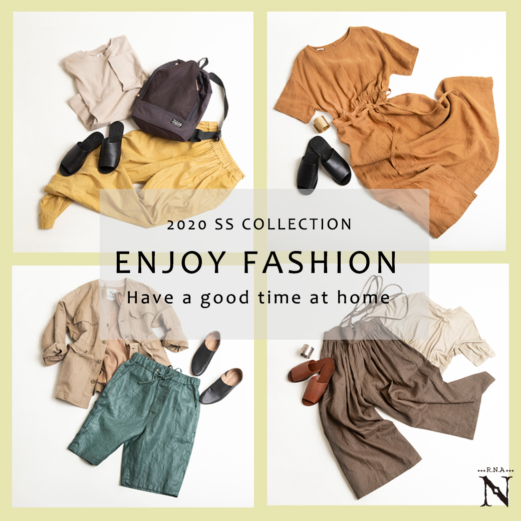 【RNA-N】特集「ENJOY FASHION ~Have a good time at home~」公開!