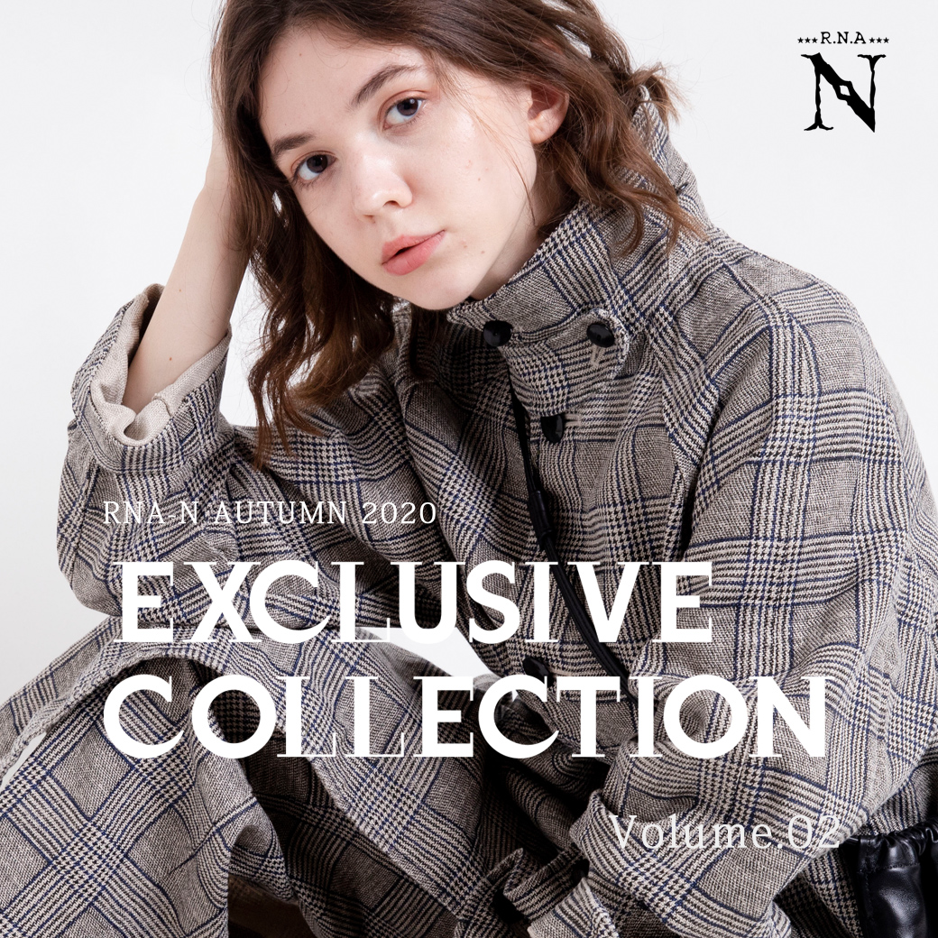 【RNA-N】特集「EXCLUSIVE COLLECTION Volume.02」公開!