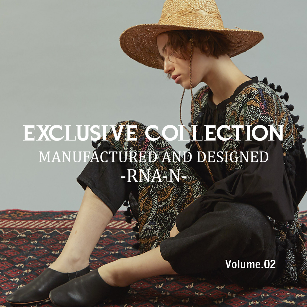 【RNA-N】「2021SS EXCLUSIVE COLLECTION Volume.02」公開!